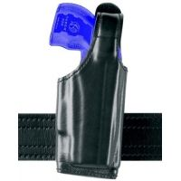 Safariland 520 EDW Holster with Thumb Break, Clip on Belt Loop, Adjustable Angle - Basket Weave, Right Hand 520-164-81