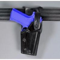 "Safariland 6285 1.50"" Belt Drop, Level II Retention Holster - Plain Black, Left Hand 6285-8341-62"