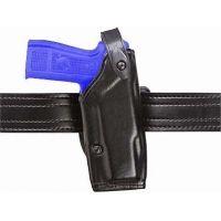 Safariland 6287 Concealment SLS Belt Holster - Plain Black, Left Hand 6287-2782-62