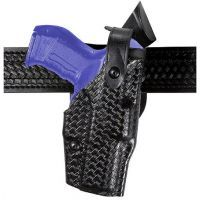 Safariland 6360 ALS Level III w/ Ride UBL Holster - Hi Gloss Black, Right Hand 6360-185-91
