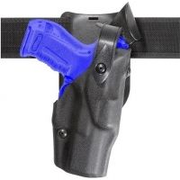 Safariland 6365 ALS Level II Plus w/ Drop UBL Holster - Plain Black, Right Hand 6365-383-61