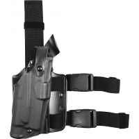 Safariland 3084 Military Tactical Holster - STX Tactical Black, Ambidextrous 3084-73-131