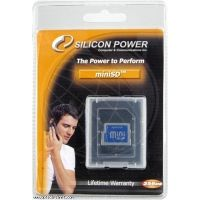 Silicon Power 256MB Mini Secure Digital Memory Card