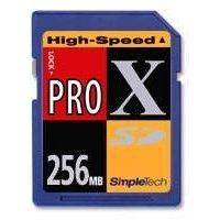 SimpleTech High-speed ProX Secure Digital (SD) 256MB Memory Card
