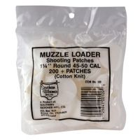Southern Bloomer Muzzleloader Shooting Patches 1.25 Inch Round .015 Thickness 109