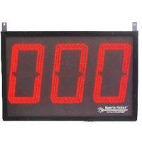 """Sports Radar DL734 Display, 3 8"""" Red Digits, 4 inputs"""