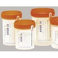 Starplex LeakBuster Specimen Containers, Starplex B1202-1YN 120 Ml (4.1 oz.) Containers
