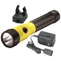 Streamlight PolyStinger LED Flashlight with Fast Charger and PiggyBack Holder