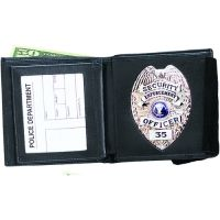 Strong Leather Company Dbl Id Badge Wallet 396