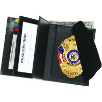"Strong Leather Company Dr 2id Wallet 3""x41/2inch Cc&lic 415"
