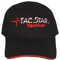 TacStar Black Tactical Cap w/ Logo