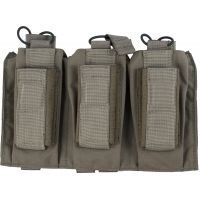 TAG MOLLE Shingle-Pistol Enhanced 3 Mag Pouch