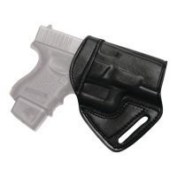 Tagua Gunleather Middle Of The Back Holster For 1911 Five Inch Right Hand Black MBH-200