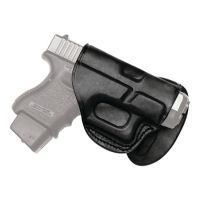 Tagua Gunleather Quick Draw Paddle Holster Taurus Slim 709 Right Hand Black PD2-150