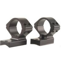"Talley 94X700 1-Piece Med Base & Extension Ring Set Remington 700 1"" Style Black"