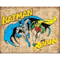 Tin Signs Batman & Robin Tin Sign
