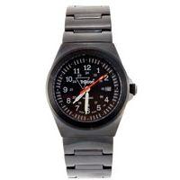 Trijicon Men's Limited Edition Serialized Water Resistant Trooper Watch - Black, Steel