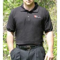 Trijicon Black Polo Shirt with 3-colors Logo