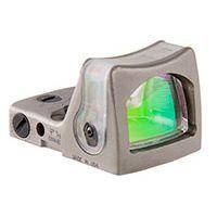 Trijicon RMR Nickel Boron Dual Illuminated Sight - 12.9 MOA Green Triangle