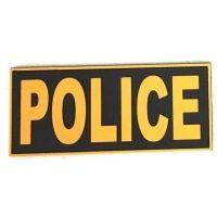 Police Unicorn PVC Patch