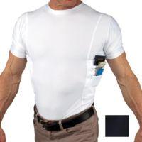 UnderTech Undercover Mens Travel Safe Crew Neck Shirt