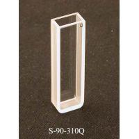 UNICO Quartz Rectangular Spectrophotometer Cuvette, 5mm pathlength, 1.7ml capacity, UV-Vis, each
