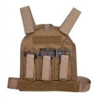 US Palm Defender 308 Soft Armor Plate Carrier With One Level IIIA Soft Armor Panel X-Large 11 X 13.5 Inch Panel Maximum Waist 60 Inches Black USP00400361