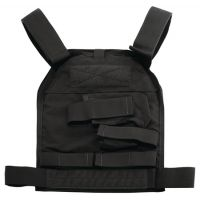 US Palm Handgun Defender Soft Armor Plate Carrier With One Level IIIA Soft Armor Panel X-Large 11x13.5 Inch Panel Right Hand Black USP00400349