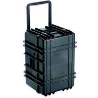 UnderWater Kinetic 1627 Transit Case with Wheels, Black