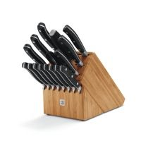 Victorinox 17pc Forged Knife Block Set w Steak Knives 7-7243-17