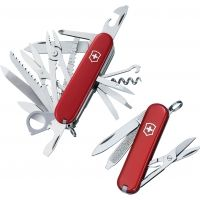 Victorinox Duo Gift Set Swiss Army Knife Red