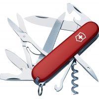 Victorinox Mountaineer Swiss Army Knife Red