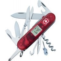 Victorinox Voyager Lite Translucent Swiss Army Knife Ruby