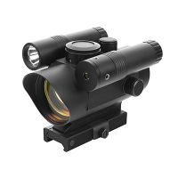 VISM Red Dot Sight / Green Laser Sight / LED Flashlight Combo w/ Quick Release Mount VDFLGQ142