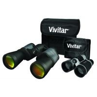 Vivitar Value Series 8x50 Binoculars w/Bonus 4x30 Compact Binocular