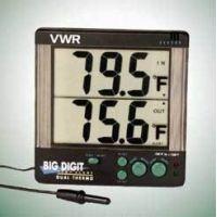 VWR Big Digit Four-Alert Alarm Thermometer 4143 Four-Alert Alarm Thermometer, °F