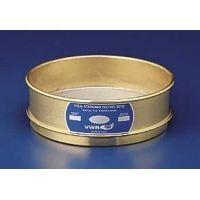 VWR Testing Sieves, 12 Brass Frame, Stainless Steel Wire Cloth 120BS12H Half Height