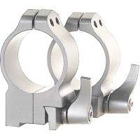Warne 30MM Medium Matte Quick Detach Ruger 77 Rings 14R7LM