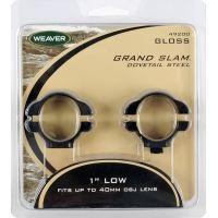 Weaver Steel Dovetail Rings