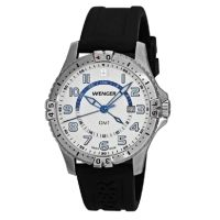 Wenger Mens Squadron GMT Swiss Watch  7be2aa299a