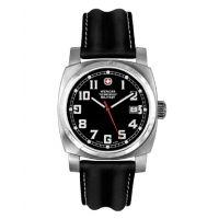 Wenger Swiss Military Retro Men's Black Dial w/ Black Strap Watch 72972