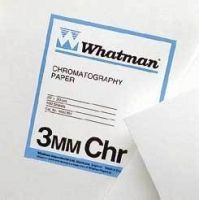 Whatman Grade No. 3MM Chr Chromatography Paper, Cellulose, Whatman 3030-392 Sheets