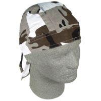 Zan Head Gear Camouflage Flydanna Biker Head Wraps