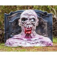 Zombie Industries 3D Bleeding Zombie Head Target - Grave Digger 10-016