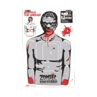 Zombie Industries Assorted Zombie Colossal Paper Targets 24x36 Inch 10 Per Package 30-008-10