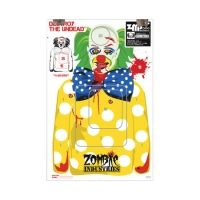 Zombie Industries BoBo The Clown Zombie Colossal Paper Targets 24x36 Inch 100 Per Package 30-014-100