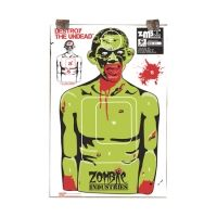 Zombie Industries Rocky Zombie Standard Paper Indoor Targets 18x24 Inch 10 Per Package 31-002-10