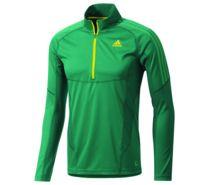 03bc428846b0 ... Adidas Outdoor Terrex Swft Long Sleeve 1 2 Zip Tee - Men s-Sub Green