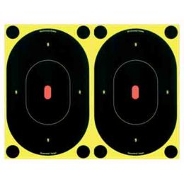 "48 Pasters Birchwood Casey 34710 Shoot-N-C 7/"" Silhouette Targets 12 Targets"