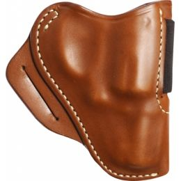 Blackhawk Leather Speed Classic Holster, Brown, Right Hand - S&W J Frame —  Color: Black, Finish: Matte, Fabric/Material: Leather, Holster Type: